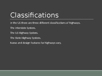 Driver's Education Ch. 16 Power Point Driving on Highways