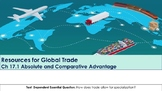 Ch 17.1 Absolute & Comparative Advantage - Resources Global Trade - Economics