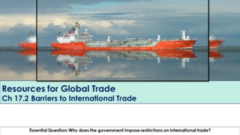 Ch 17.2 Barriers to International Trade - Global Trade Economics