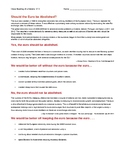 Ch 17.3 Economics - Close Reading of Debate/Primary Source Common Core Worksheet