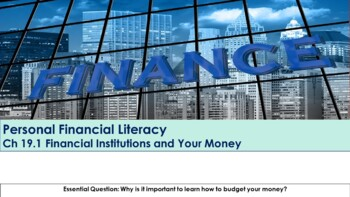 Ch 19.1 Financial Institutions and Your Money - Economics - McGraw Hill