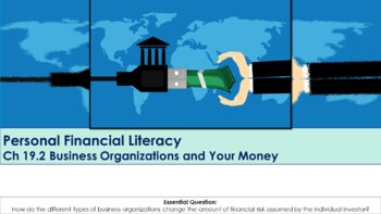 Ch 19.2 Business Organizations and Your Money - Economics - McGraw Hill