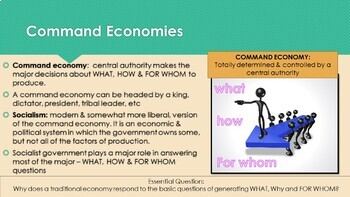 Ch 2.1 Economic Systems and Decision Making -Understanding Economics McGraw Hill