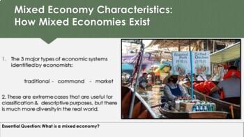 Ch 2.2 Mixed Economies - Economic Systems Decision Making Economics McGraw Hill