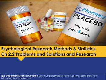 Ch 2.2 Problems and Solutions and Research - Psychology Methods - McGraw Hill