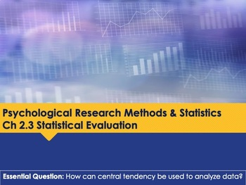 Ch 2 3 Statistical Evaluation - Psychology Methods - McGraw Hill