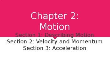 Ch. 2: Motion