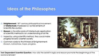 Ch 21.2 The Ideas of the Enlightenment and Revolutions - World History McGraw
