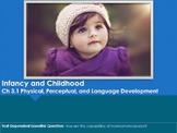 Ch 3.1 - Physical, Perceptual, and Language Development -