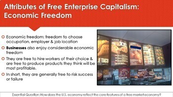 Ch 3.1 The American Free Enterprise System - Capitalism - Economics McGraw Hill