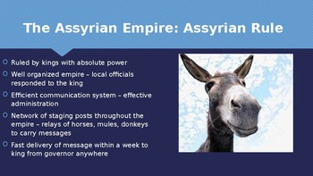 Ch 3.3 Assyria and Persia - Early Empires Ancient Near East McGraw Hill