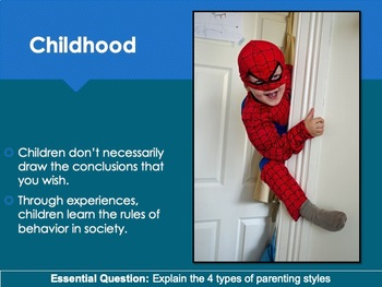 Ch 3.3 Parenting Styles & Social Development- Infancy & Childhood - Psychology