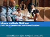Ch 3.3 Social Development & Styles of Parenting - Infancy