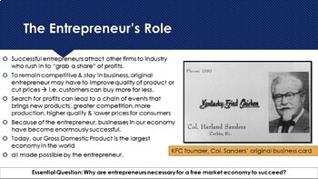 Ch 3.3 Roles and Responsibilities in a Free Enterprise Economy Economics McGraw
