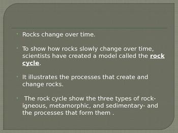 Ch 3- Rocks