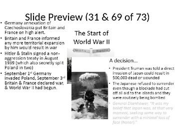 Ch 34-37 World War II Part I: The War (Florida US EOC)