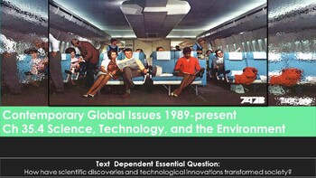 Ch 35 4 Science, Technology, and the Environment - McGraw Hill World History