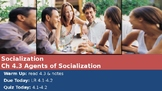 Ch 4.3 Agents of Socialization - Sociology You McGraw Hill