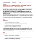 Ch 4.3 - Close Reading of a Debate - Common Core Worksheet