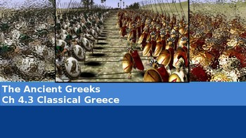Ch 4.3 Greek City States - Classical Greece - McGraw Hill