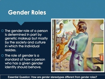 Ch 4.4 Gender Roles and Differences - Adolescence - Psychology McGraw Hill