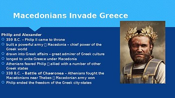 Ch 4.5 Alexander and the Hellenistic Era - Classical Greece - McGraw Hill