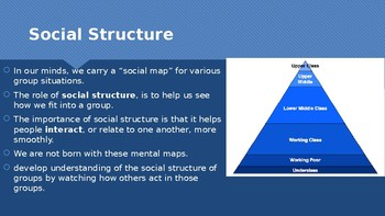 Ch 5.1 Social Structure & Status & Society - Sociology You McGraw Hill