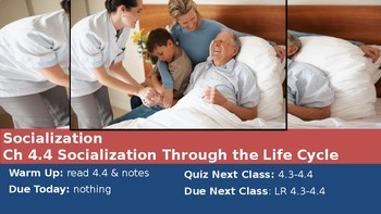 Ch 4.4 Socialization Through the Life Cycle - Sociology You McGraw Hill