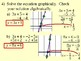 Solving Linear Equations Using Graphs