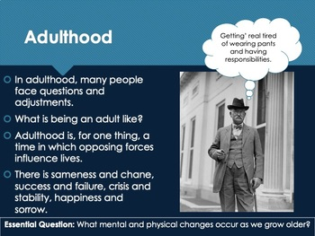 Ch 5.1 Adulthood - Adulthood and Old Age - Psychology McGraw Hill