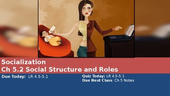 Ch 5.2 Social Structure and Roles - Sociology and You McGraw Hill