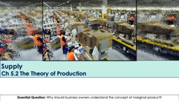 Ch 5.2 The Theory of Production - Supply - Economics - McGraw Hil