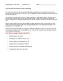 Ch 6.2 - Close Reading of a Case Study - Common Core Economics Worksheet