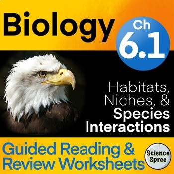 Ch 6 1 Guided Reading Review Worksheet Miller Levine 2019 Biology