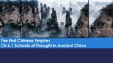 Ch 6.1 Schools of Thought in Ancient China - First Chinese Empires - McGraw Hill