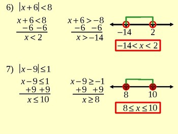 Solving Absolute-Value Equations and Inequalities
