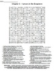 Ch 6 - Humans in the Biosphere Crossword & Wordsearch