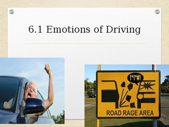 Driver's Education Ch. 6 Power Point Effects of Driver Condition