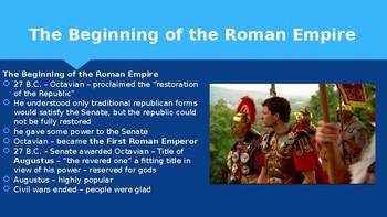 Ch 7.2 From Republic to Empire - The Romans - McGraw Hill