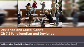 Ch 7.2 Functionalism and Deviance - Sociology and You McGraw Hill