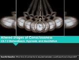 Ch 7.2 - Biofeedback, Hypnosis, Meditation - Altered Consc