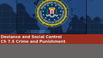 Ch 7.5 Crime & Punishment Deviance & Social Control Sociology & You McGraw Hill