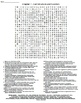 Ch 7 Cell Structure and Function Crossword & Wordsearch