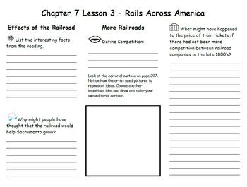 Ch. 7 Lesson 3 Rails Across America