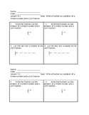Ch 8 Grade 4 Go Math Exit Tickets