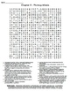 Ch 8 - Photosynthesis Crossword & Wordsearch
