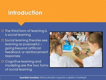Ch 9.3 Social Learning - Learning: Principals and Application - Psychology
