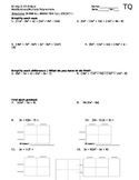 Ch 9 Quiz- add subtract mulitply polynomials