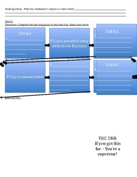 Ch. 9 Section 2 Guided Reading Activity Pearson pages 280-283 Plus Time Line