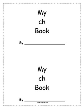 Ch Book (digraphs & sentence writing)